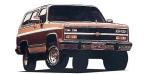 シボレー シボレーブレーザーシルバラード ベースグレード (1989年10月モデル)