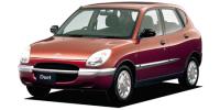 トヨタ デュエット 1998年9月モデル