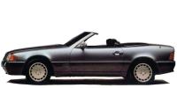 メルセデス・ベンツ SL 1990年8月モデル