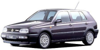 フォルクスワーゲン ゴルフ 1995年10月モデル