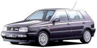 フォルクスワーゲン ゴルフ 1997年7月モデル