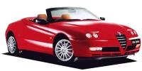アルファロメオ アルファスパイダー 2003年7月モデル