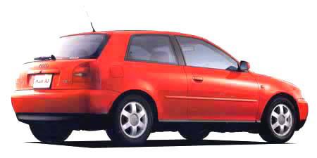 アウディ A3 1.8 (1999年10月モデル)