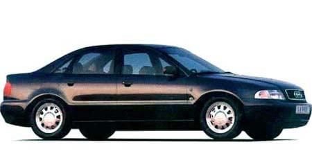 アウディ A4 2.8クワトロ (1996年2月モデル)