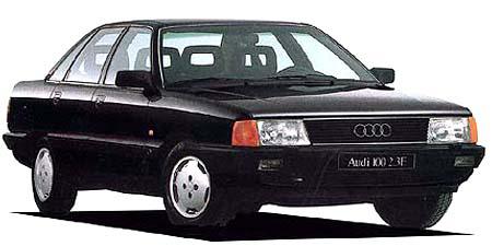 アウディ 100 ターボ (1989年10月モデル)