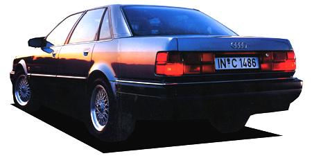 アウディ V8 ベースグレード (1992年11月モデル)