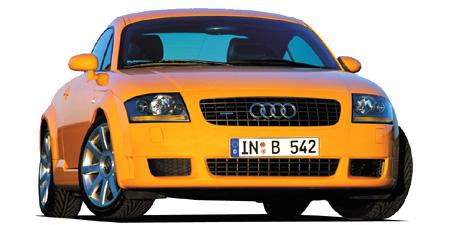 アウディ TTクーペ 3.2クワトロ Sライン (2004年4月モデル)
