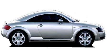アウディ TTクーペ 1.8T (2004年4月モデル)