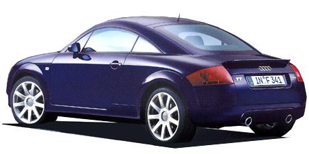 アウディ TTクーペ 1.8T (2004年8月モデル)