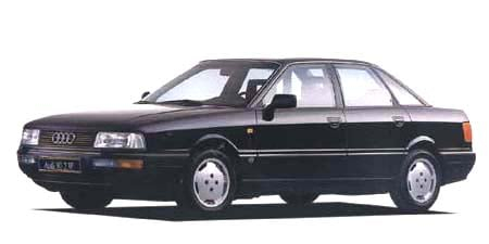 アウディ 90 2.3E (1990年10月モデル)