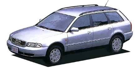 アウディ A4アバント 1.8 (1996年10月モデル)