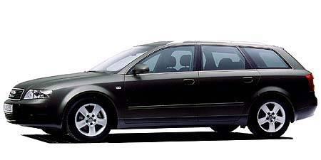 アウディ A4アバント 3.0クワトロSE (2002年8月モデル)