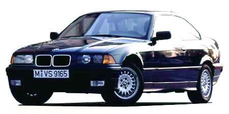 BMW 3シリーズ 325iクーペ (1992年9月モデル)