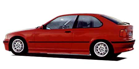 BMW 3シリーズ 318ti Mスポーツ (1998年11月モデル)