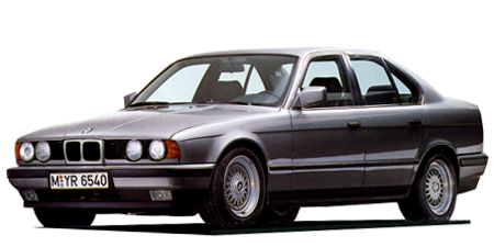 BMW 5シリーズ 525i (1989年4月モデル)