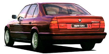 BMW 5シリーズ 525i (1993年10月モデル)