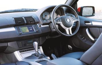 BMW X5 4.4i (2001年10月モデル)