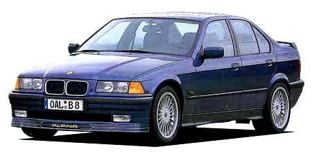 BMWアルピナ B8 4.6カブリオレ (1997年1月モデル)