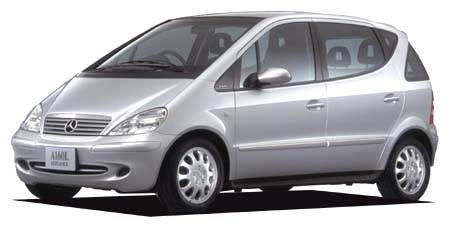 メルセデス・ベンツ Aクラス A160 エレガンス (2001年8月モデル)