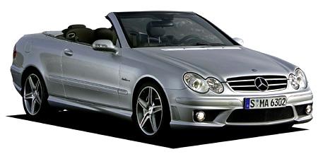 メルセデス・ベンツ CLK CLK350カブリオレ (2006年9月モデル)