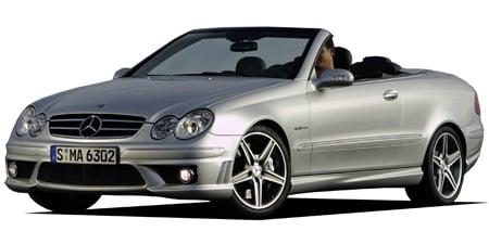 メルセデス・ベンツ CLK CLK63 AMG カブリオレ (2008年1月モデル)