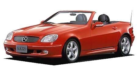 メルセデス・ベンツ SLK SLK230コンプレッサー (2000年11月モデル)