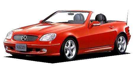 メルセデス・ベンツ SLK SLK230コンプレッサー (2001年1月モデル)