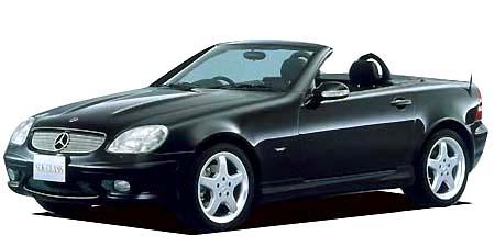 メルセデス・ベンツ SLK SLK230コンプレッサー (2001年10月モデル)