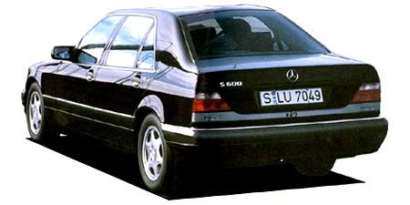 メルセデス・ベンツ Sクラス S500L (1996年8月モデル)