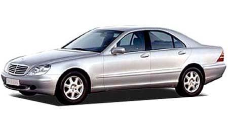 メルセデス・ベンツ Sクラス S500 (1998年11月モデル)