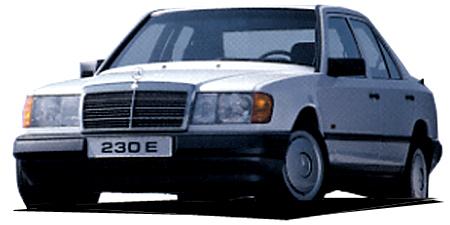 メルセデス・ベンツ ミディアムクラス 300Dターボディーゼル (1986年12月モデル)