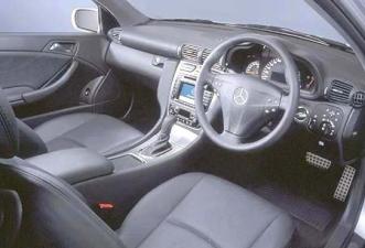 メルセデス・ベンツ Cクラススポーツクーペ C200コンプレッサー (2003年5月モデル)