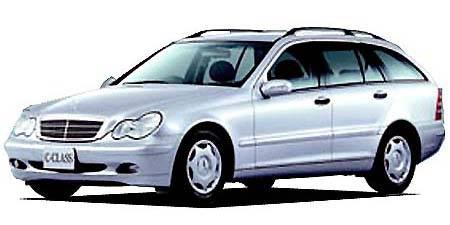 メルセデス・ベンツ Cクラスステーションワゴン C180コンプレッサー ステーションワゴン (2002年8月モデル)
