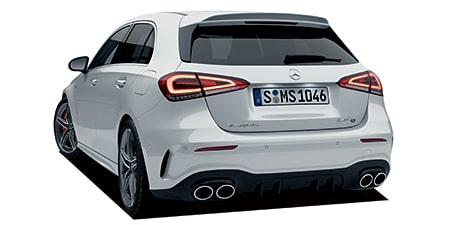 メルセデスAMG Aクラス A45 S 4マチック+ (2021年1月モデル)