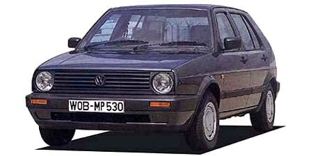 フォルクスワーゲン ゴルフ CLi (1989年10月モデル)