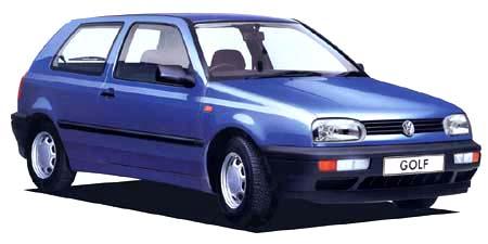 フォルクスワーゲン ゴルフ CLi (1992年4月モデル)