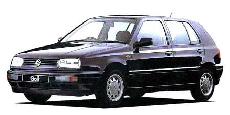 フォルクスワーゲン ゴルフ GLi (1995年10月モデル)