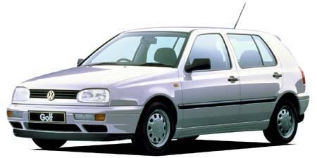 フォルクスワーゲン ゴルフ CLディーゼル (1996年9月モデル)