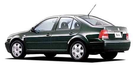 フォルクスワーゲン ボーラ ベースグレード (2000年11月モデル)
