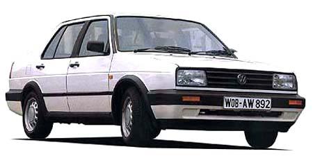 フォルクスワーゲン ジェッタ GLDターボ (1990年10月モデル)