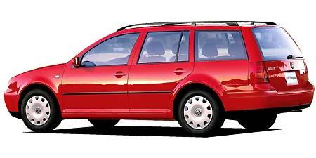 フォルクスワーゲン ゴルフワゴン GLi (2002年8月モデル)