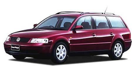 フォルクスワーゲン パサートワゴン V6シンクロ (1998年7月モデル)