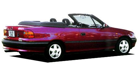 オペル アストラ カブリオ (1994年4月モデル)