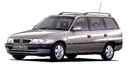 オペル アストラ ワゴンスポーツ (1995年10月モデル)
