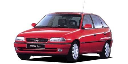 オペル アストラ GL (1996年10月モデル)
