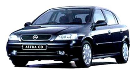 オペル アストラ CD (1998年7月モデル)