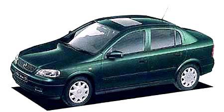 オペル アストラ サルーンCD (1999年1月モデル)
