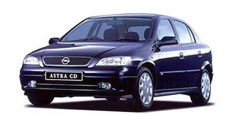 オペル アストラ LS (1999年12月モデル)