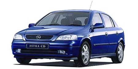 オペル アストラ LS (2001年4月モデル)