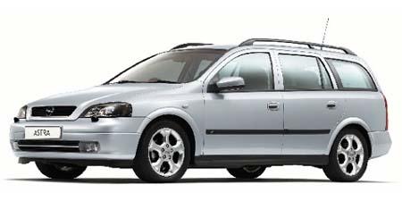 オペル アストラ ワゴンCD (2002年12月モデル)
